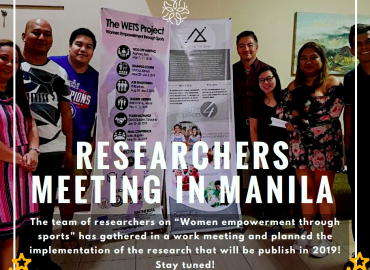 WETS Research 1st Official Meeting